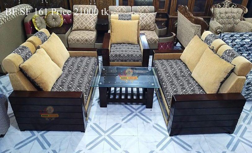 আকর্ষণীয় সোফা সেট ফার্নিচার ৪ – Badda Furniture